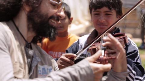 Ara Malikian- Acción contra el hambre 2016