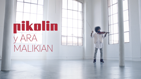 Spot Pikolin. Pikolin with Ara Malikian. Smart Mattress.